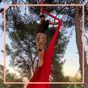 profesor telas acrobáticas